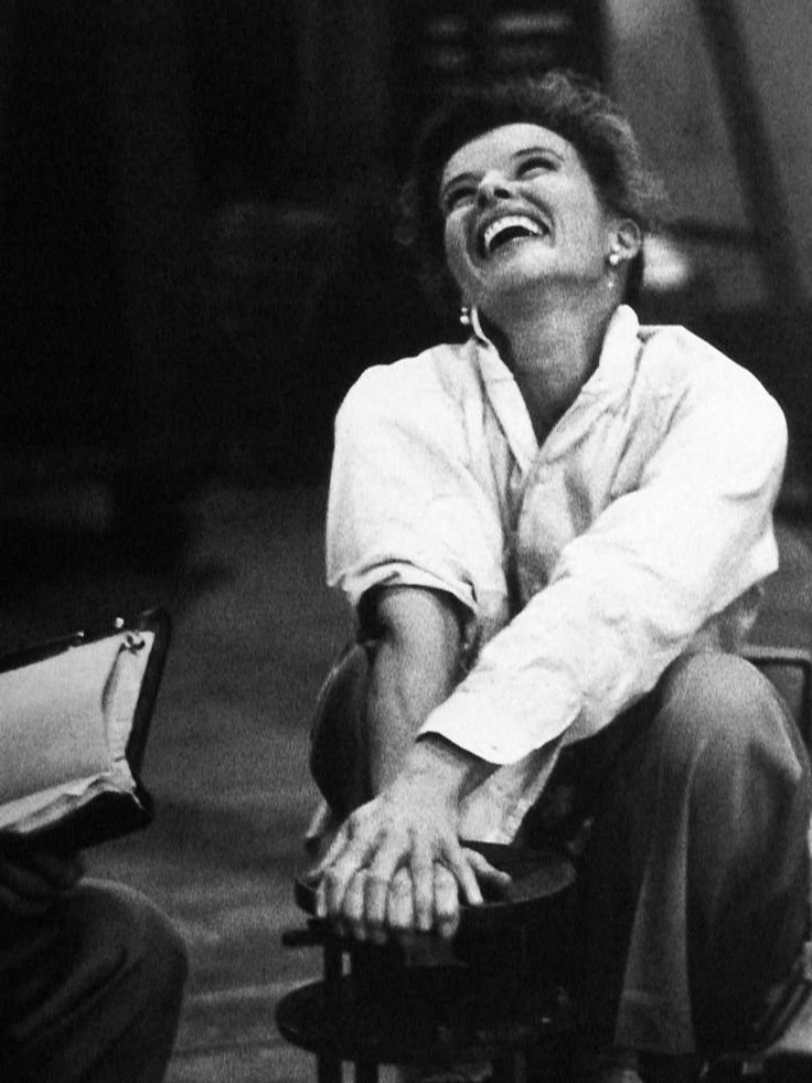 """Life can be wildly tragic at times, and I've had my share. But whatever happens to you, you have to keep a slightly comic attitude. In the final analysis, you have got to not forget to laugh.""  KATHERINE HEPBURN"