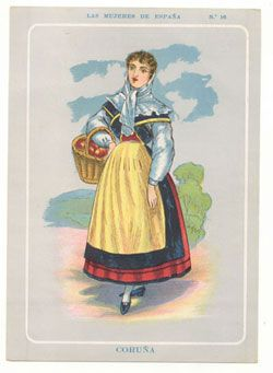 Vestido tradicional de A Coruña