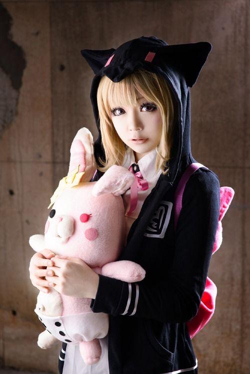 chiaki dangan ronpa cosplay - photo #2