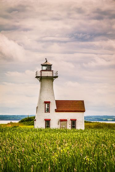 #Lighthouse - Prince Edward Island, #Canada...This certainly is a picturesque scene! http://dennisharper.lnf.com/