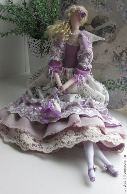 Tilda muñecas hechas a mano. Masters Feria - estilo de la muñeca hecha a mano Tilda Albina. Hecho a mano.