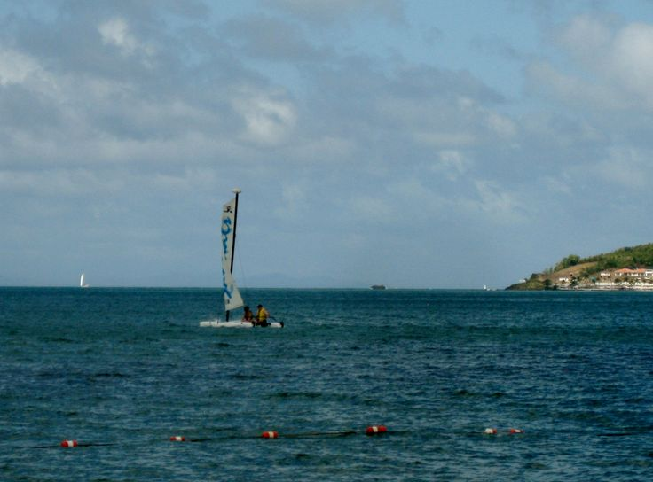 Can you see yourself sailing on the ocean in one of Sandals' sailboats?