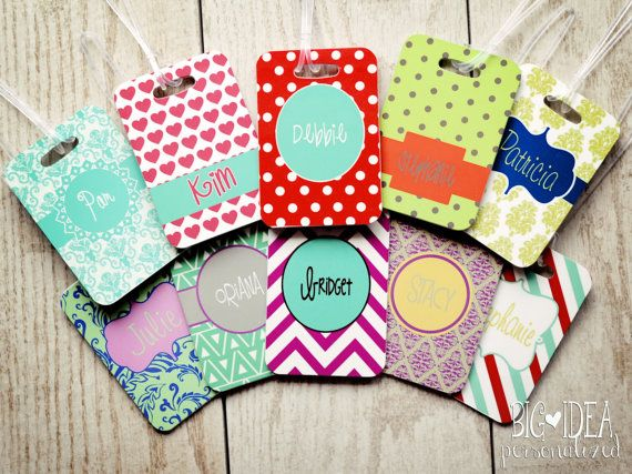 ... Tags on Pinterest Gift card holders, Tags and Leather luggage tags