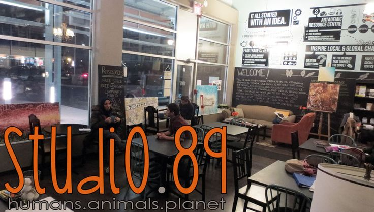 Had a great night at the awesome Cafe - Studio.89!