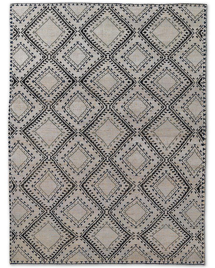 antico rug silver restoration hardware
