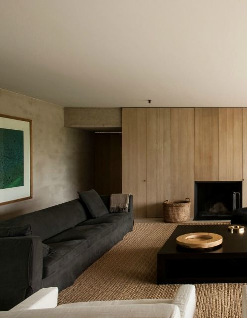 Vincent van Duysen minimal neutral living room
