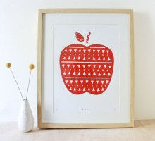 Apple Screenprint