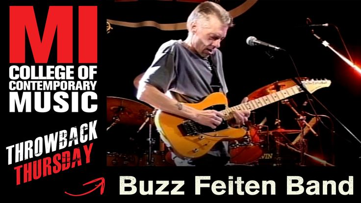 Buzz Feiten Band Throwback Thursday from the MI Vault