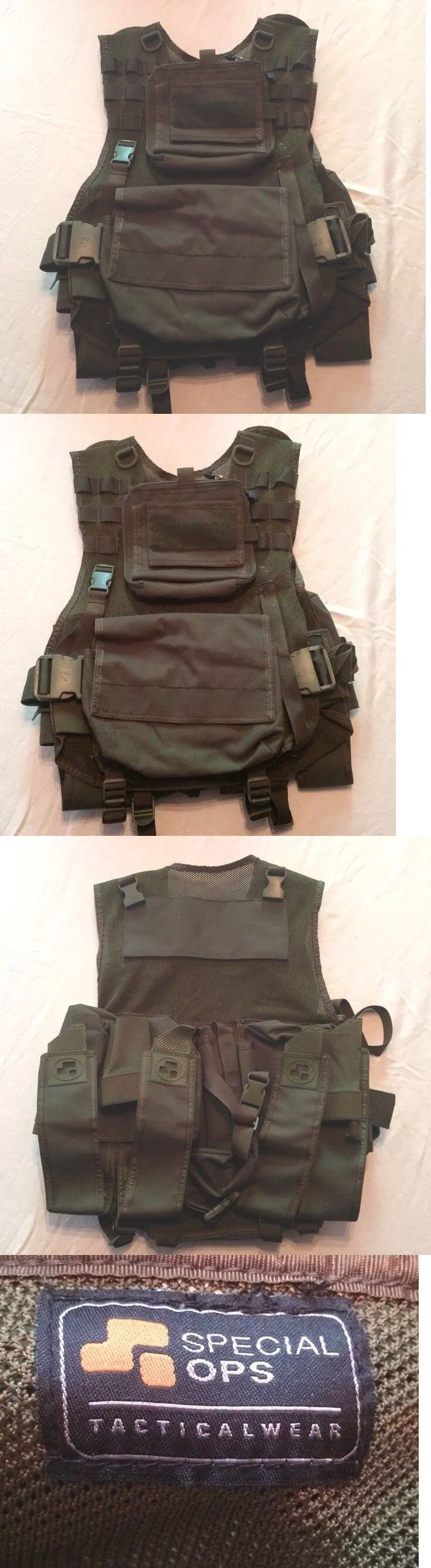 Vests 36284: Special Ops Scenario Tactical Paintball Vest -> BUY IT NOW ONLY: $74.99 on eBay!