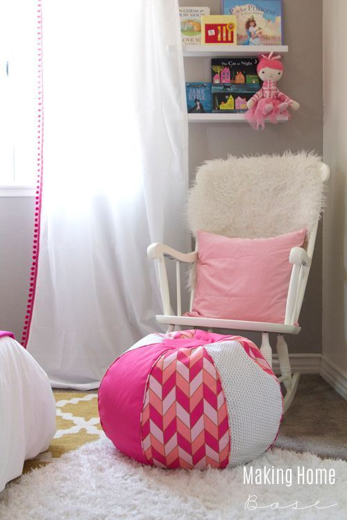 This Little Girls Room...so cute! Love the colors.