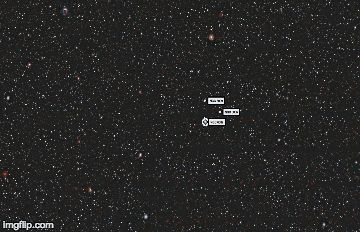 This animation shows how the Sky Viewer tool can be used to zoom in on objects for a more detailed view. Credit: Dark Energy Camera Legacy Survey