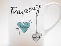 """Trauzeuge"" - Tasse"