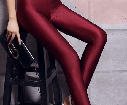 2016 lady push up slim leggings fashion new style hot shine legging girl black leggings summer autumn large size fitness pant