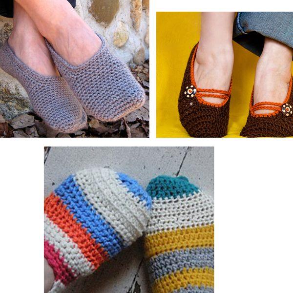 crochet slippers: Slippers Socks, Crochet Slipper Pattern, Crochet Knits Th, Cute Ideas, Crochet Knits Slipp, Bridal Parties, Crochet Slippers Patterns, Free Patterns, Easy Crochet Slippers
