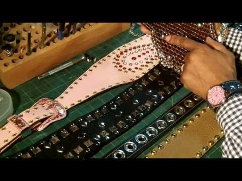 How To Embellish Leather Products and What Tools To Use Part 1 ( NEW) - YouTube