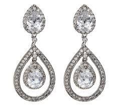 Image result for vintage bridal earrings