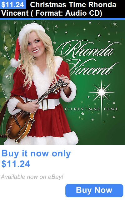 Christmas Songs And Album: Christmas Time Rhonda Vincent ( Format: Audio Cd) BUY IT NOW ONLY: $11.24