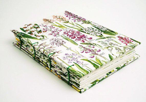 Botanical Journal Floral Notebook Garden Notebook Flower