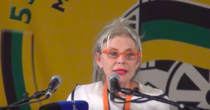 Who Is The Iconic Woman Who Always Knows The ANC President Before The Rest Of Us?