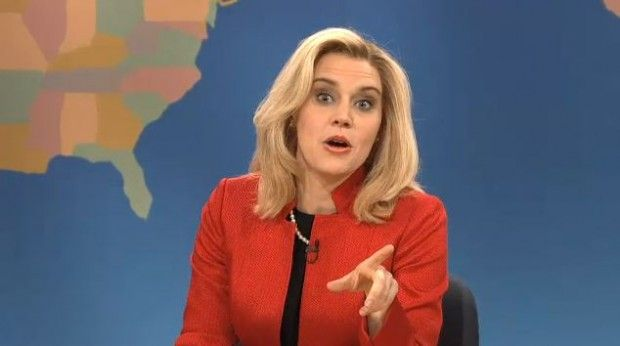 """""""Ann Romney"""" spoof on SNL """"Yes it's hard, the campaign has meant many sacrifices to our schedule,"""" Romney said. """"It's fall and we're missing apple picking season. And we love apple picking, Seth — it's like Mormon Mardi Gras. I once drank so much cider I woke up the next morning in my bed wearing my pajamas."""""""