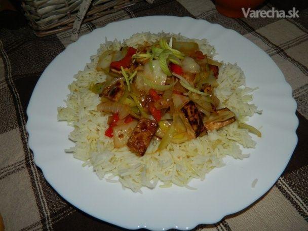 Tofu Čína 100% vegan (fotorecept) - Recept