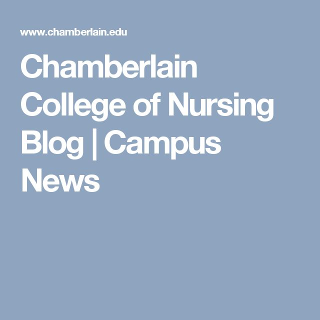 Chamberlain College of Nursing Blog | Campus News