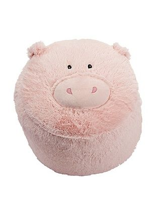 35% OFF Just Pretend Kids Piggy Ottoman