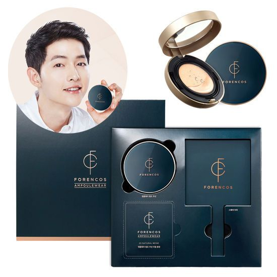 Korea Cosmetics Forencos Song Joong Ki Ampoulewear Lamp Cushion Set SPF 50+ PA++ #ForencosKBeauty