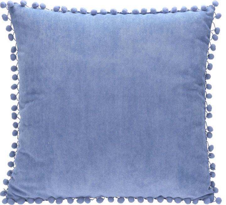 Poduszka Dekoracyjna 45x45 Cm Wyblakly Granatowy 7247266853 Oficjalne Archiwum Allegro Pillows Throw Pillows Interior