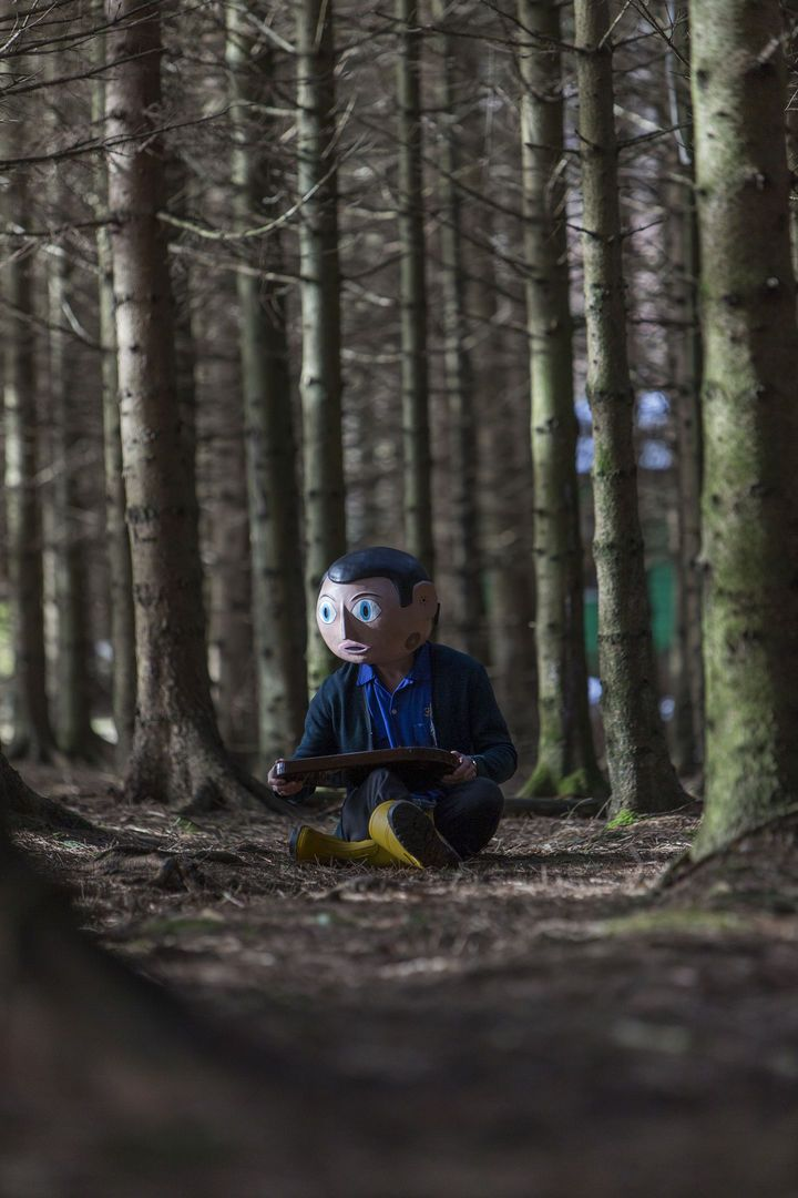 "The Film Stage - Watch Michael Fassbender rock out in the first trailer of ""Frank"""