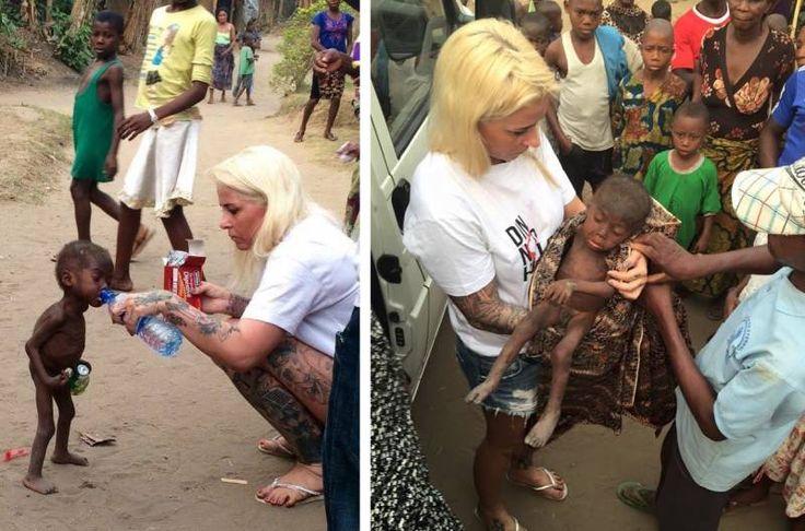 Спасение нигерийского малыша Хоупа: Два месяца спустя