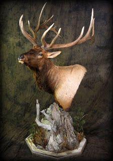 Elk mount fireplace - photo#40