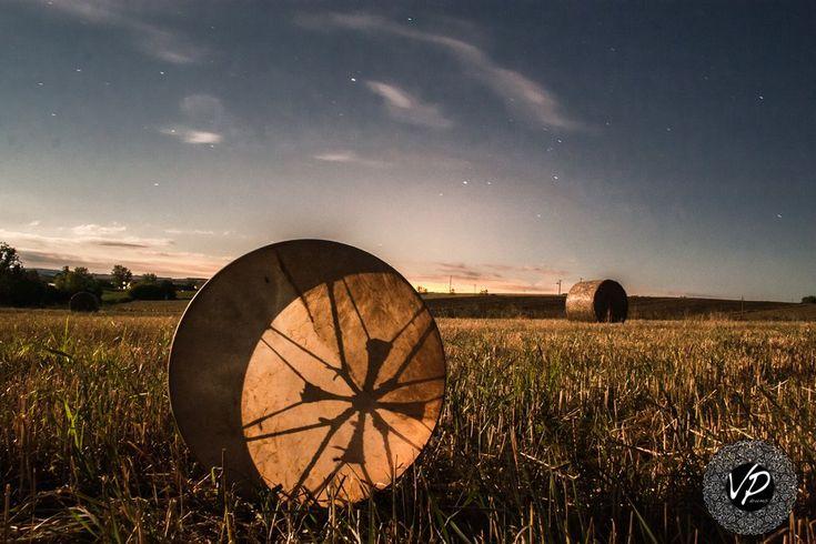 20' Shaman drum, Frame drum, Moon eclipse drum, Hand drum,