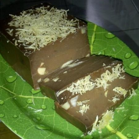Resep PUDDING BROWNIES ISI KEJU