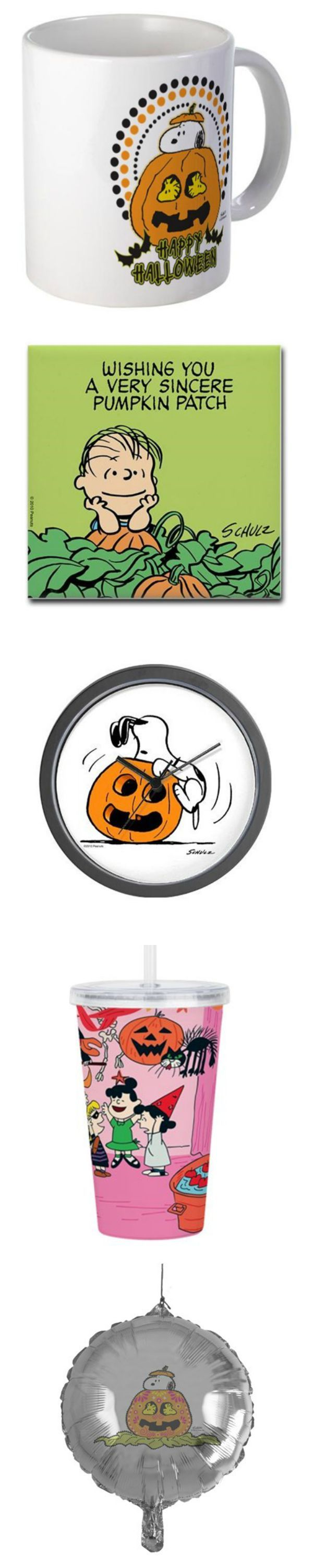The Great Pumpkin is coming! Decorate your patch with Peanuts Halloween decor and more from CafePress. Visit CollectPeanuts.com to start shopping and support our site.