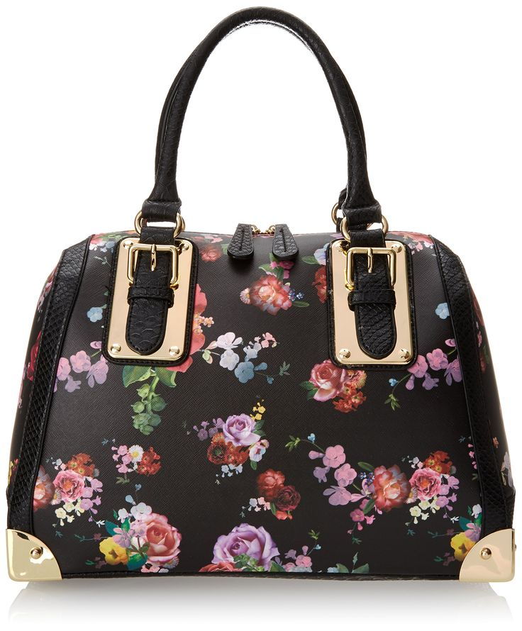 65 00 aldo adelaide top handle bag  winter floral  one size  handbags  amazon com