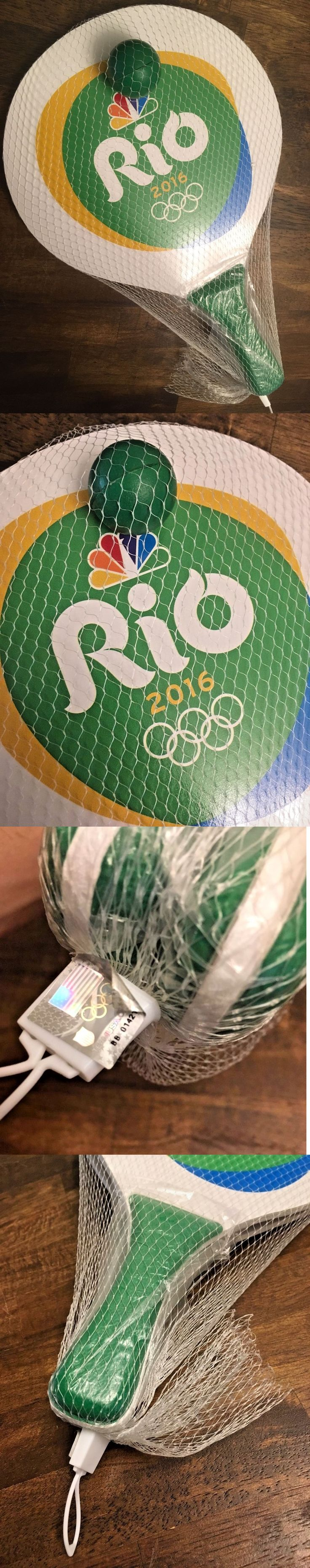 Olympic rings logo rio 2016 olympics logo designed by fred gelli - Paddles 36277 2016 Paddleball Rio Olympic Games Wood Paddle And Ball Game Brand New Cbs