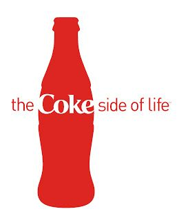 8. White space. The white space surrounding the coke bottle directs the reader's attention to the coke bottle and the word 'coke' written on it