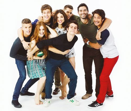 Teen Wolf cast. They're so precious