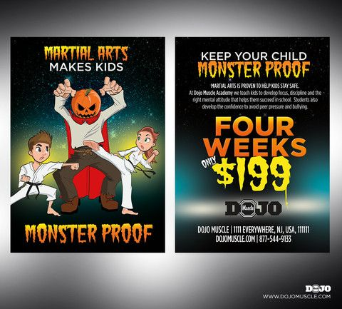 monster proof offer comp martial artsmonstershalloween - Halloween Monster Trivia
