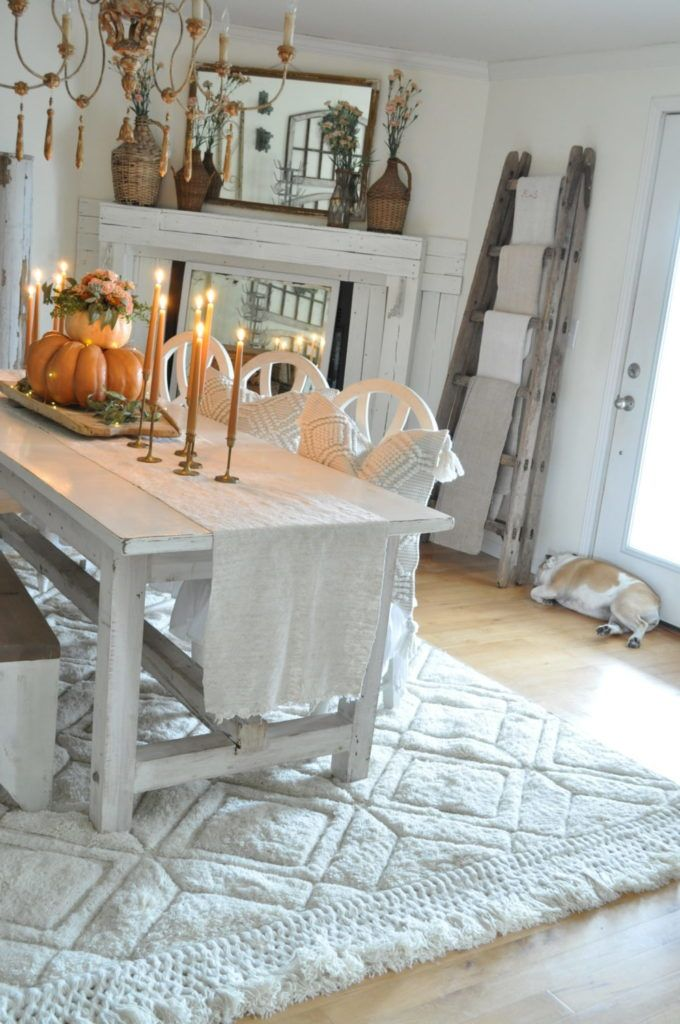 Dining Room Refresh With Loloi Becky S Farmhouse Dining Room Small Dining Room Furniture Sets Rustic Dining Room Sets #rustic #living #room #furniture #set