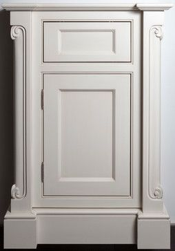 the inside profile of the ashbury mdf door compliments the single bead inset frame cabinet the ionian carved corner posts add some intricate detail and - Beaded Inset Hotel Decoration