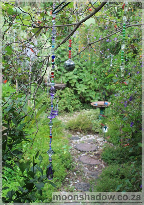 Tranquil garden at Moonshadow Gift & Coffee Shop. (- #Swellendam, #SouthAfrica)