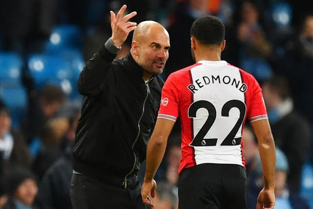 This is why Pep Guardiola was screaming at Nathan Redmond | Man city 2-1 Southampton