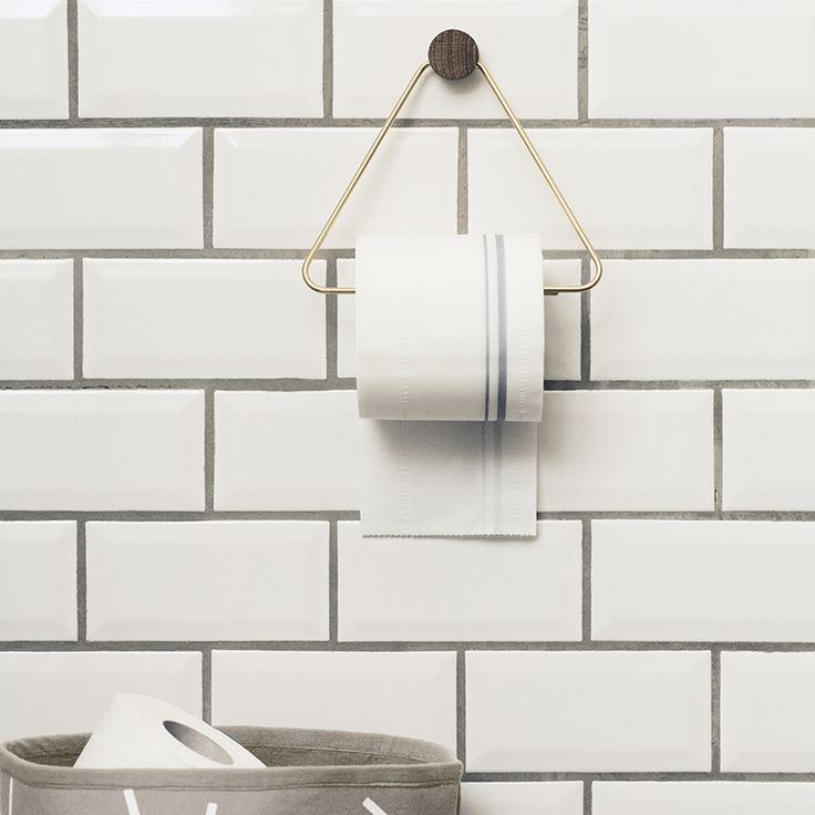 ferm LIVING webshop - Brass Toilet Paper Holder