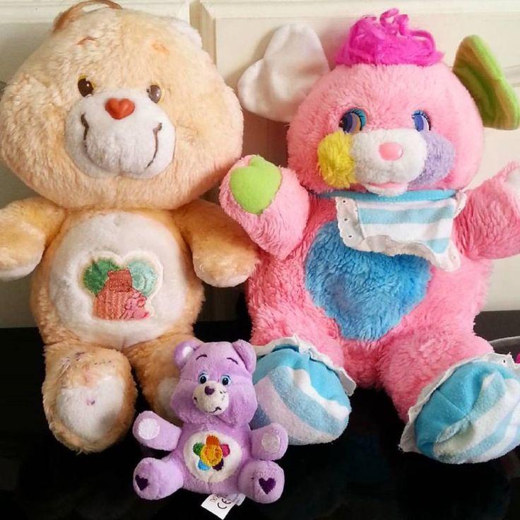care bears,  Popples