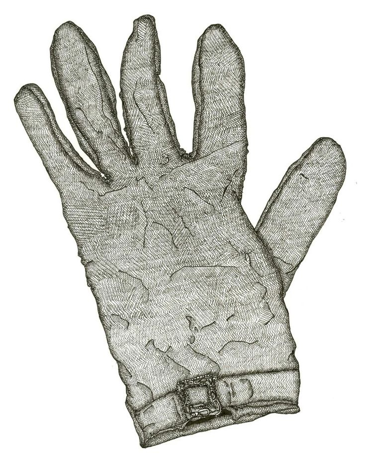 'The Lost Glove' print available in A5 postcards and A4 poster prints soon. #sarajaynedesigns #illustration #glove #hand