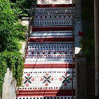 Digital Transilvania - Rakoczi Stairs, Targu Mures, Romania