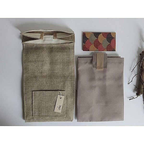 lunch bag lin chocolat id e cadeau homme bureau dejeuner pique nique noel sac luxe femme. Black Bedroom Furniture Sets. Home Design Ideas