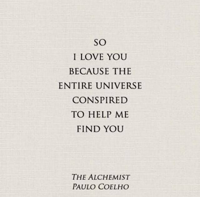 love quotes from the alchemist quotesgram